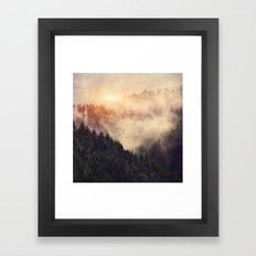 In My Other World Framed Art Print