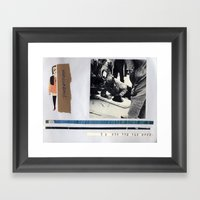 Unencumbered Framed Art Print