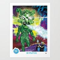 Poster El Mundo Art Print