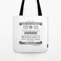 Good Things & Bad Things… Tote Bag