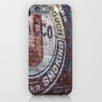 iPhone & iPod Case featuring West Virginia Tobacco by BinaryGod.com