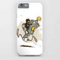 iPhone & iPod Case featuring Ahhhh! Run Faster!  by David Finley