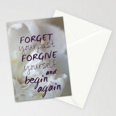 Begin again Stationery Cards