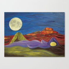 Gaia and Luna Ver. 3.0 Canvas Print
