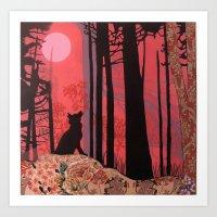 Wolf (aka Lycanthropy In… Art Print