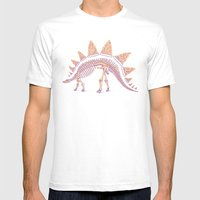 Pizzasaurus Awesome Mens Fitted Tee White SMALL