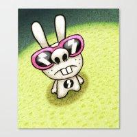 Rabbit 1/3 Canvas Print