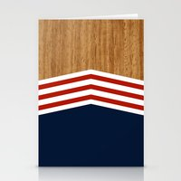 Vintage Rower Ver. 3 Stationery Cards