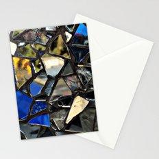 Closeup (PHOTO) of a Glass Mosaic Stationery Cards