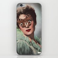 JEAN KENT.  (PIN-UPS). iPhone & iPod Skin