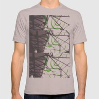With Him Mens Fitted Tee Cinder SMALL