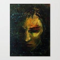 Das Leben ist wie ein trauriger Abend... Canvas Print