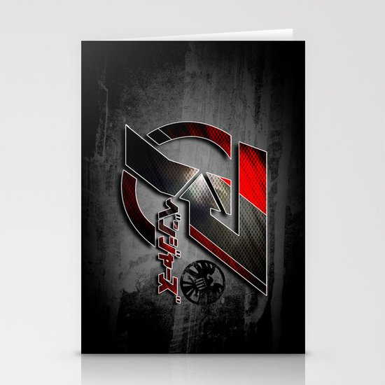 Japanese Avengers Stationery Card