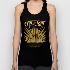 Welcome to the City of Light Unisex Tank Top