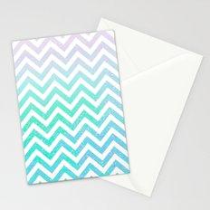 Fairy Dust Chevron Stationery Cards