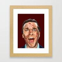 Patrick Bateman Framed Art Print