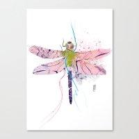 Dragonfly01 Canvas Print