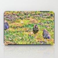 Hens On The Farm iPad Case