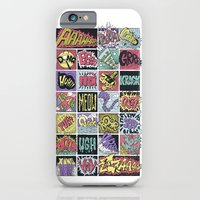 iPhone Cases featuring Crash Boom Bang ... by Peter Kramar