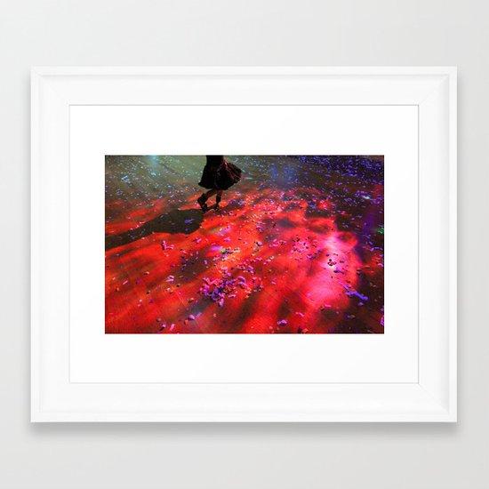 dancing floor Framed Art Print