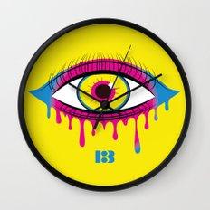 All Seeping Eye Wall Clock