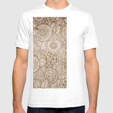 Sunny Cases IX White Mens Fitted Tee SMALL