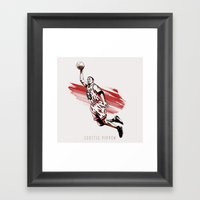 Scottie Pippen Framed Art Print
