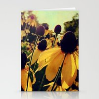Sunshine and Flowers Stationery Cards