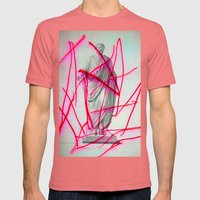 Strike 19 Mens Fitted Tee Pomegranate SMALL