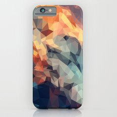 Mountain low poly iPhone 6 Slim Case