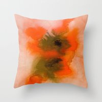 Color explosion 01 Throw Pillow