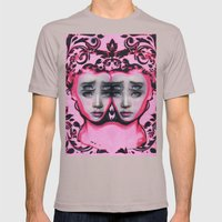 Powder By Alex Garant Mens Fitted Tee Cinder SMALL