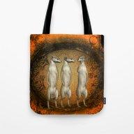 Funny Meerkats  Tote Bag