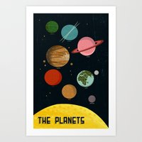 The Planets  Art Print