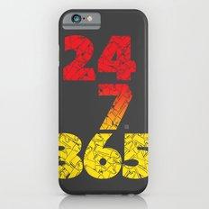 24-7/365 (Red hustle) Slim Case iPhone 6s