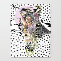 Sweetly Lavender Canvas Print