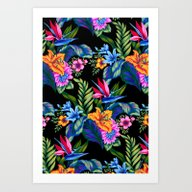 Jungle Vibe Art Print