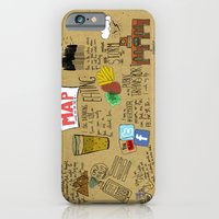 iPhone & iPod Case featuring MAP by Villaraco