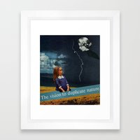 Carbon Copy Framed Art Print