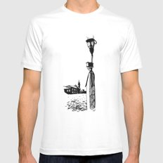 Venice Mens Fitted Tee White SMALL