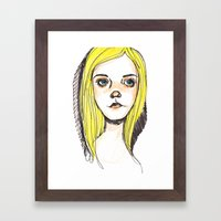 Sheila Framed Art Print