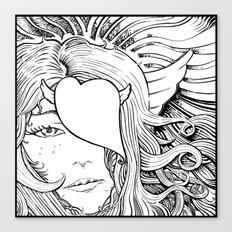 Gorgone Canvas Print