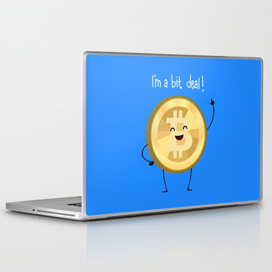 Bit Deal! Laptop & iPad Skin