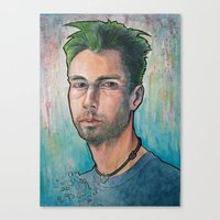 MCA (Adam Yauch) 90's Tribute Canvas Print