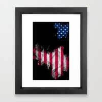 USA 2 Framed Art Print