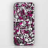 Ghost Doodles iPhone & iPod Skin