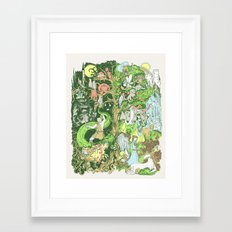 Sinister Dexter Framed Art Print