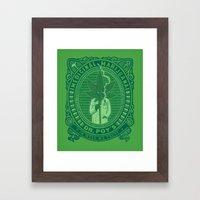 Medicinal Marijuana Framed Art Print