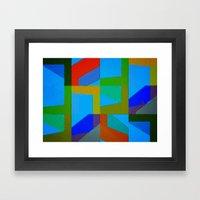 Colorful Truth. Sky Framed Art Print