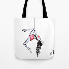 'By a thread' Tote Bag
